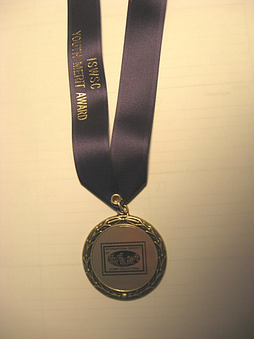 ISWSC Youth Merit Award Medal